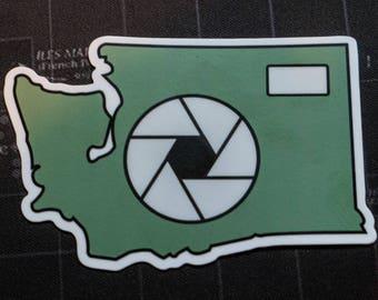 Photo Washington Sticker