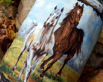 Horse Shopping Bag Holder, Western Grocery Bag Dispenser, Horse Shopping Bag Keeper,  Cowboy House Warming Gift