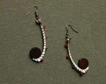 Rib Dangle Earrings