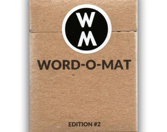 Word-o-Mat Edition #2