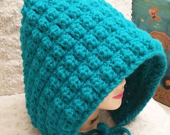 Adult Pixie Hat - Teal