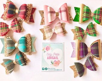 Traditional Tartan Bow