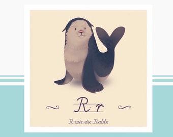 Tier-ABC - R wie Robbe