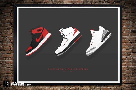 finest selection eec46 682d1 jordan sneaker poster 1 23 nike air jordan cake