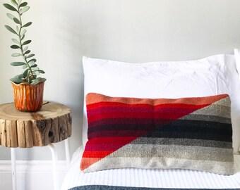 Lumbar Pillow, Boho Lumbar Pillow, Southwest Lumbar Pillow, Mexican Lumbar Pillow, Tribal Pillow, Hippie Pillow, Bohemian Pillow