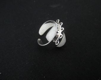 Ring 5 rings in Sterling Silver 925 * 1