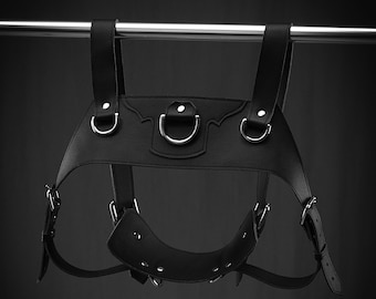 Faux Leather Charley Pony Play and Fashion Harness