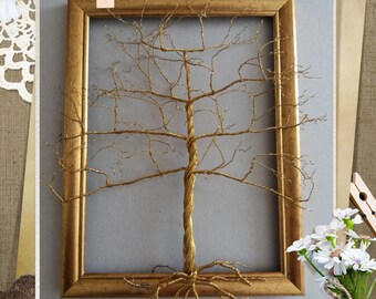 tree of life copper wire