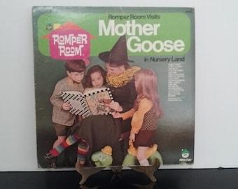 Peter Pan records - Romper Room - Mother Goose - Circa 1960's