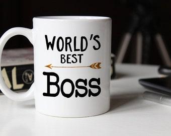 World's Best Boss, Worlds best boss, gift for boss, boss gift, best boss ever, coworker gift, gift for him, Boss Appreciation