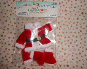 Make It Christmas Mini Santa Suit