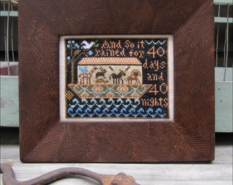 Noah's Ark Sampler Pattern