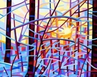 Abstract Fine Art Print - Sunrise