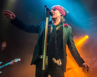 Spike - The Quireboys - A2 High Quality Poster Print - Neil Vary Photography LTD EDITION
