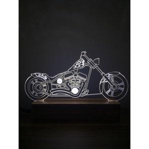 3D Harley Davidson Chopper Lamp