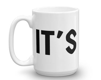 It's A Sin Mug   Quote Mugs   Unique Mugs   Coffee Mugs