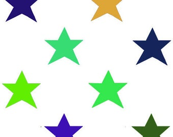 fabric printed in limited editions stars