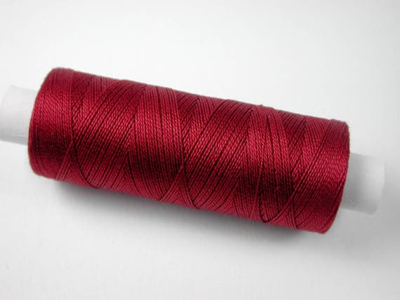 3005 Color Burgundy, Venne cotton, knitting and crochet thread for miniature manual work