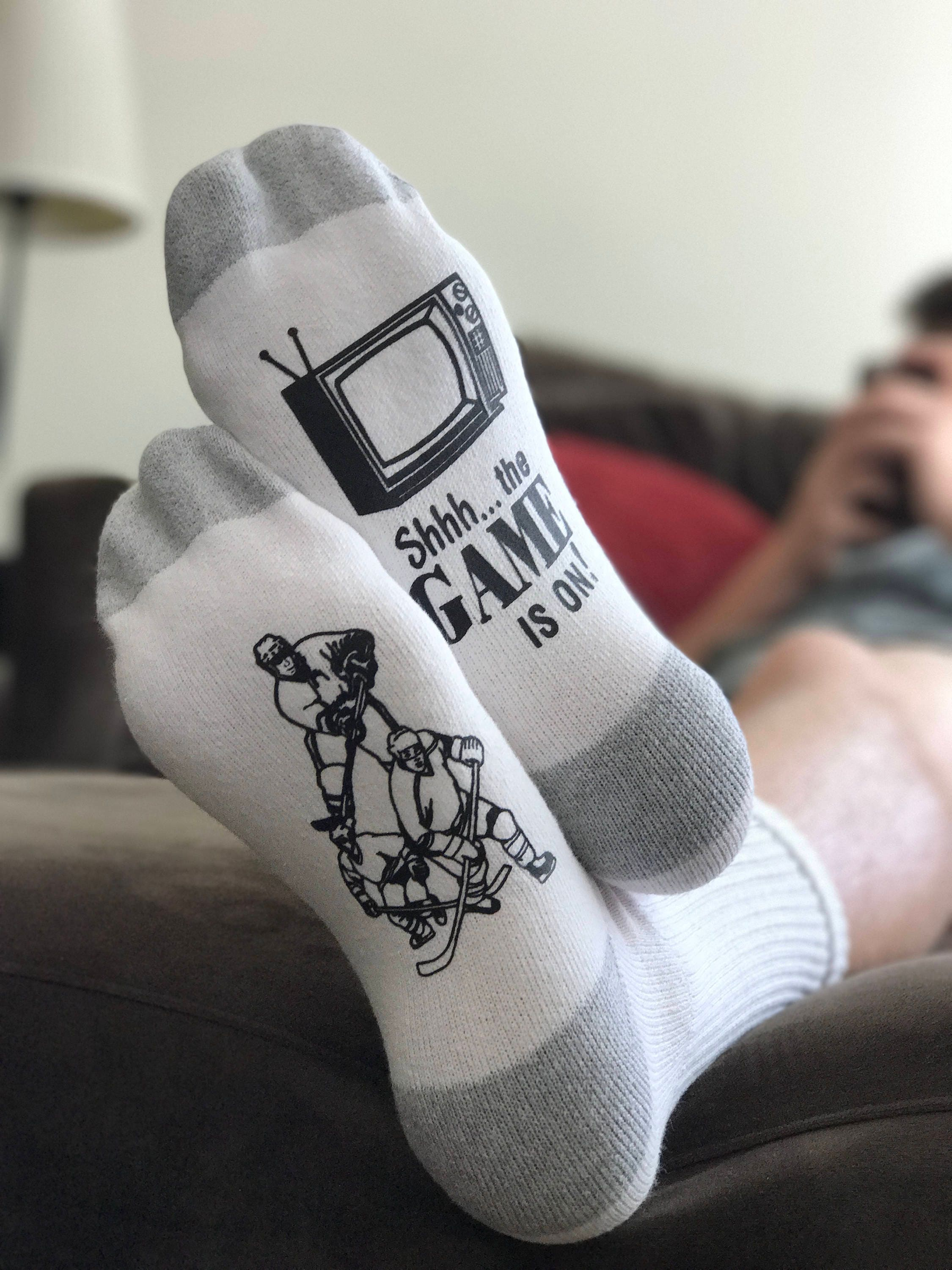Hockey Socks Hockey Gifts Gifts for Dad Hockey Fan