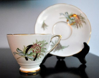 VINTAGE ROYAL STAFFORD ENGLISH CUP AND SAUCER FOR MOTHER