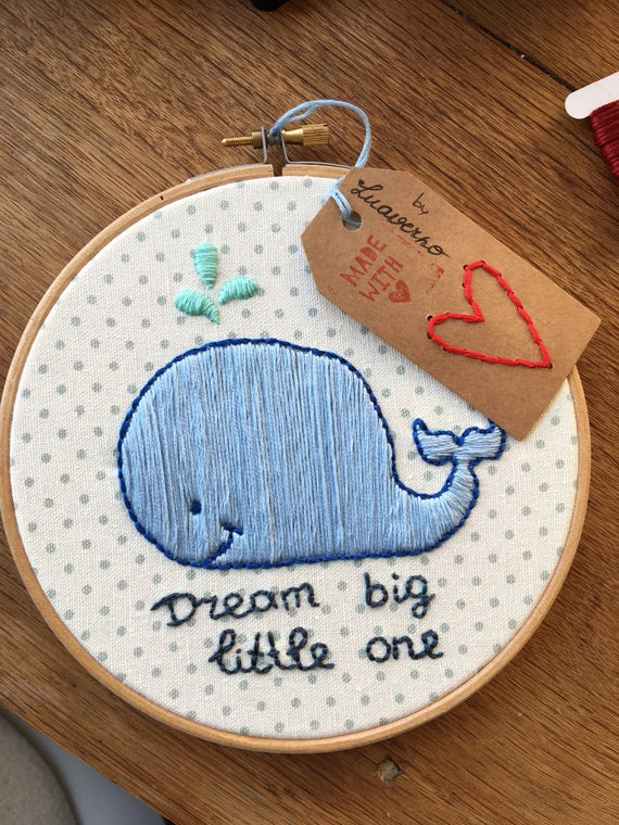 Embroidery Hoop Dream Big Little One