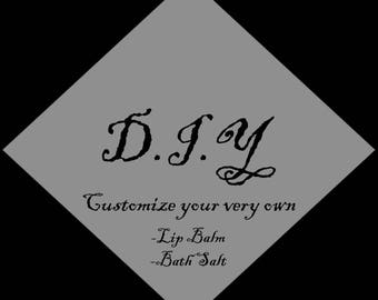 D.I.Y Lip Balms/Bath Salts