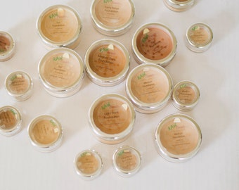 Vegan Makeup, Natural Makeup, Mineral Foundation, Natural Foundation, Loose Mineral Powder - RAW Beauty LLC