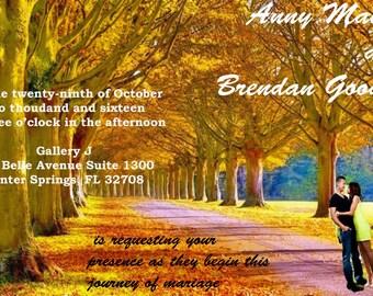 Customized Wedding Invitation
