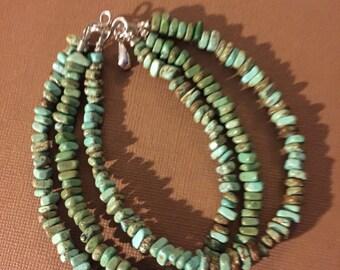 Triple Bracelet de Turquoise