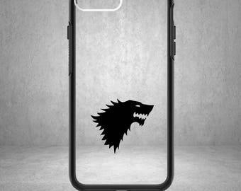 Game of Thrones Decal, Game of Thrones Sticker, Jon Snow, Jon Snow Decal, Phone Cover, Game of Thrones Decals, Game of Thrones, House Stark