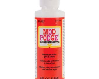 4oz Mod Podge Gloss Finish Glue Adhesive Sealer Medium