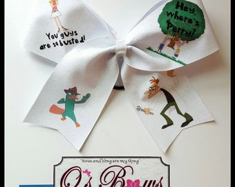 Phineas and Ferb bow