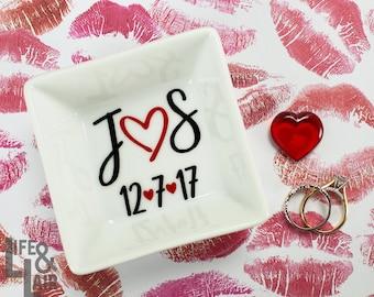 Wedding Ring Holder - Ring Dish - Trinket Dish - Jewelry Holder - Custom Ring Dish - Engagement Ring Dish - Anniversary Gift