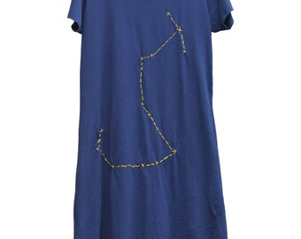 Scorpio Constellation Dress