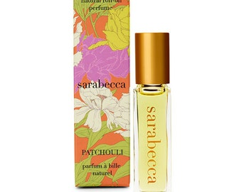 Sarabecca Patchouli Natural Perfume Roll-On 7.5 ml