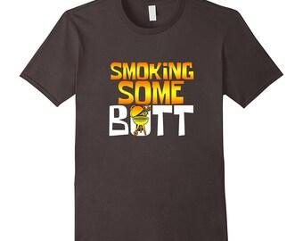 BBQ Top - Funny Barbeque Shirt - BBQ Tee Shirt - Grilling T Shirt - Smoking Some Butt