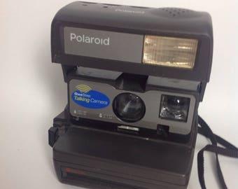 Vtg Polaroid One Step Talking Instant Camera | Vintage Photography | 90s 1990s | WORKS