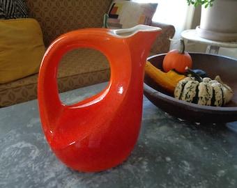Mid Century Modern Art Pottery Pitcher