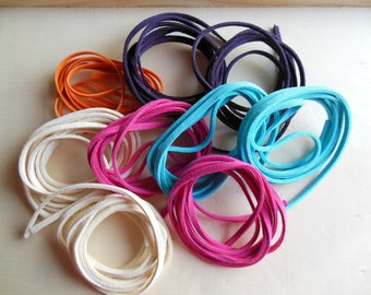 Lot 9 suede lace cord mts