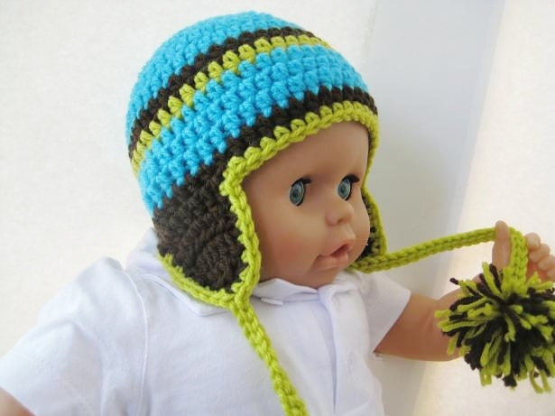 Crochet Hat Pattern Newborn Baby to Adult Boy and Girl