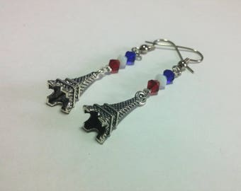 French Souvenir Earrings