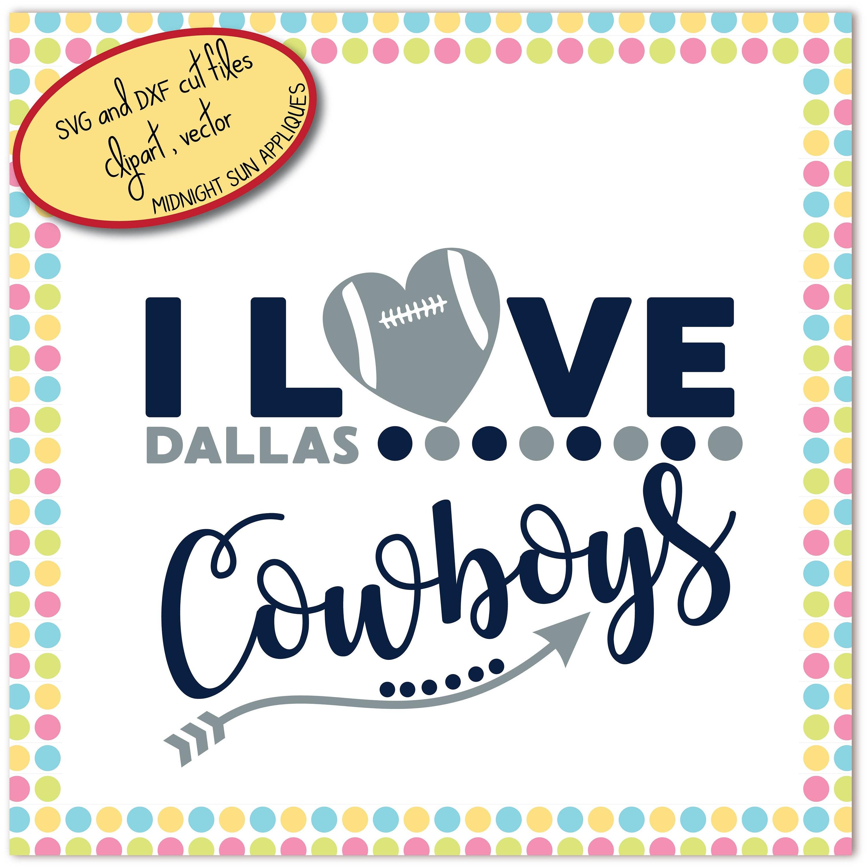 Dallas cowboys svg dxf clipart i love cowboys svg dallas zoom kristyandbryce Choice Image