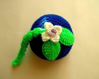 Baby Blueberry Hat/Baby Blueberry/Blueberry/Crochet Baby/Baby/blueberry beanie/Blueberry Hat/Crochet Blueberry/fruit hat/Baby Hat/