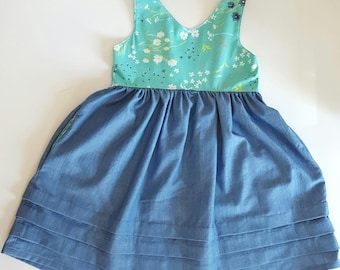 girls dresses - floral girls dress - spring dress - girls spring clothes - boutique dresses - floral girls clothes - girls boutique clothing