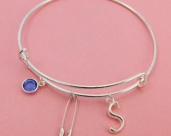 Safety Pin Bracelet - Safety Pin Jewelry - Safety Pin Movement - Equality Bracelet - Human Rights - Civil Rights - Personalized Bracelet