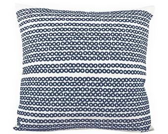 Deco Dots 20in Pillowin Navy