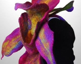 Caledonia Orchid Fascinator