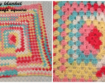 Baby blanket ~ extra soft and light weight