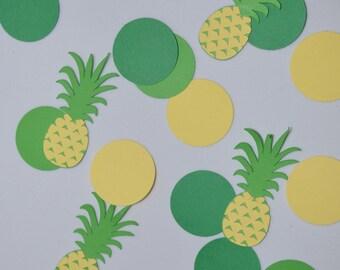 Pineapple party pineapple confetti, Hawaiian luau, Hawaiian party,  Luau Party Decor -Tropical Table Decor, 100CT