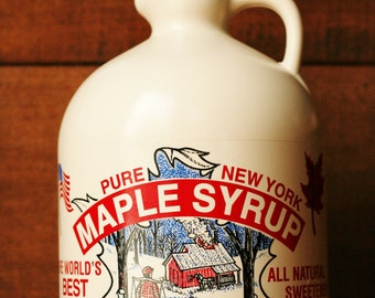 Pure New York Maple Syrup-Half Gallon